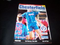 Chesterfield v Preston North End, 1999/2000